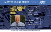 EVENT: PASO Master Class Safety Oversight and the PASO Model