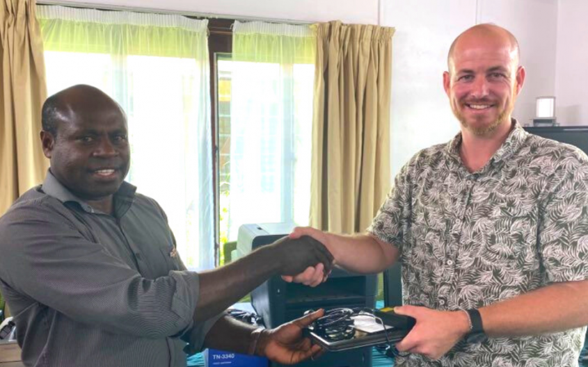 PASO supports Vanuatu Education