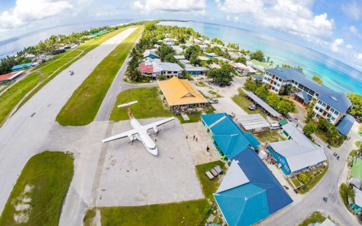 PASO is developing an integrated Pacific-wide harmonisation of the core regulatory and organisational systems supporting aviation safety for PASO Members. Image:Tuvalu International Airport. Credit: Maloff/Shutterstock
